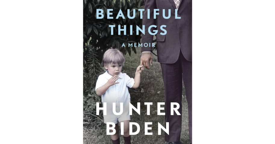 "This cover image released by Gallery Books shows ""Beautiful Things,"" a memoir by Hunter Biden."