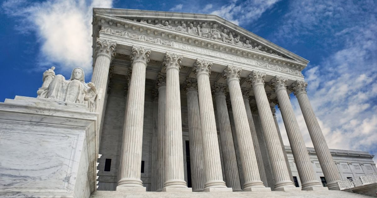 The Supreme Court is seen in this stock image.
