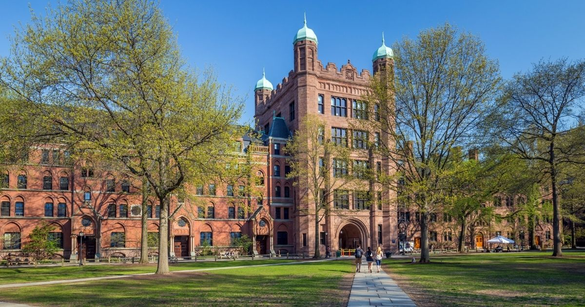 The campus of Yale University is seen in this stock image.