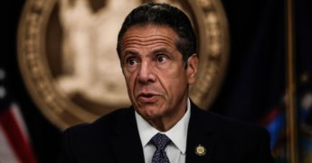 New York Gov. Andrew Cuomo speaks at a news conference on July 1, 2020, in New York City.
