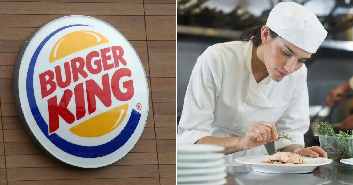 """Burger King's United Kingdom Twitter account said in a since-deleted tweet on Monday, International Women's Day, that """"women belong in the kitchen."""""""
