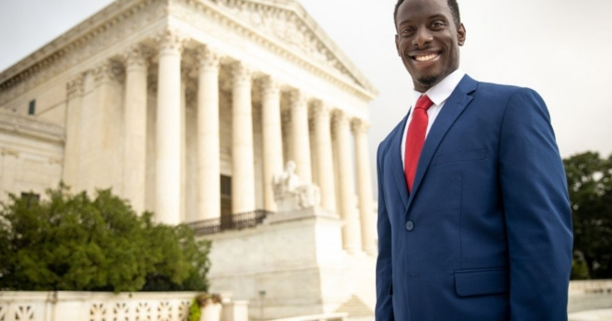 Justice Clarence Thomas issued the opinion of the court Monday, siding with Chike Uzuegbunam, a former student at Georgia Gwinnett College, and affirming his right to share his Christian faith on campus.
