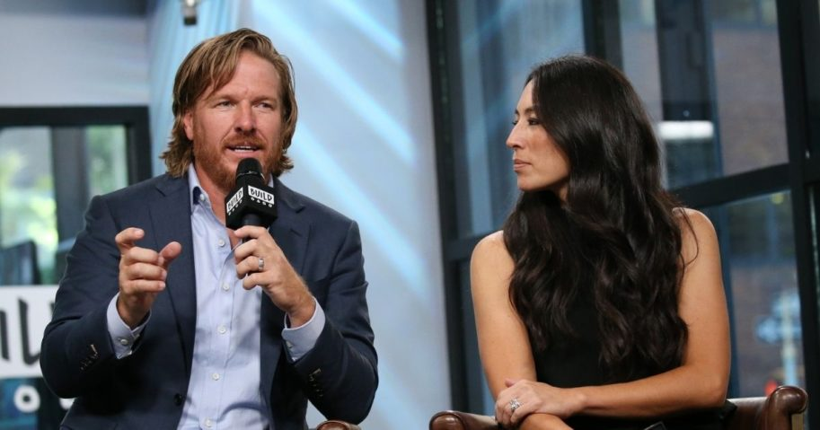 """Chip Gaines and Joanna Gaines discuss new book, """"Capital Gaines: Smart Things I Learned Doing Stupid Stuff"""" at Build Studio on Oct. 18, 2017, in New York City."""