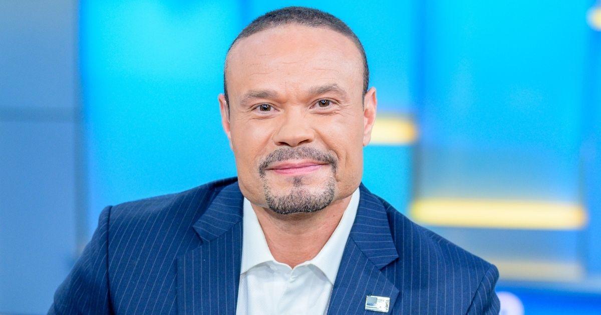 "Dan Bongino co-hosts Fox News' ""Fox & Friends"" at Fox News Channel Studios in New York City on June 18, 2019."