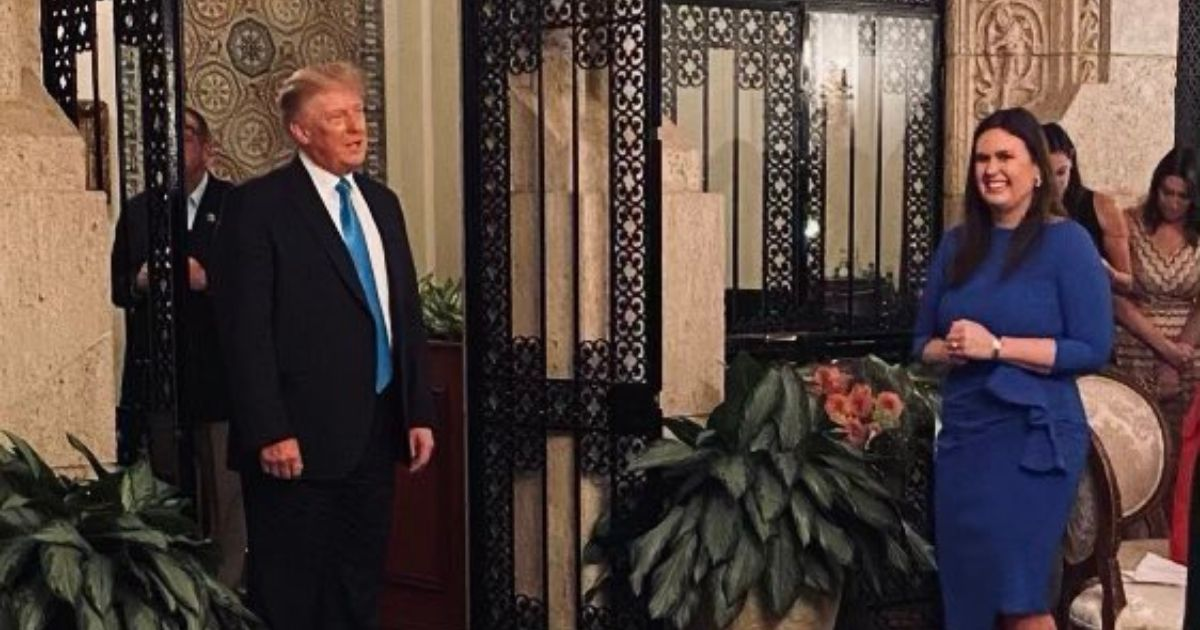 Former President Donald Trump made a surprise appearance over the weekend at an event to support the candidacy of former White House press secretary Sarah Huckabee Sanders, who is running for governor of Arkansas.