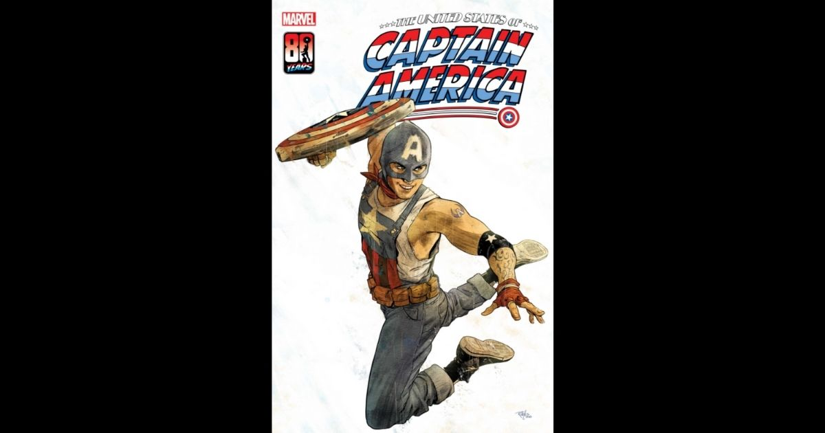 """Aaron Fischer, a gay teen version of Captain America, will be featured in Marvel's new limited series titled """"The United States of Captain America,"""" which will be released as part of the 80th-anniversary celebration of the superhero."""