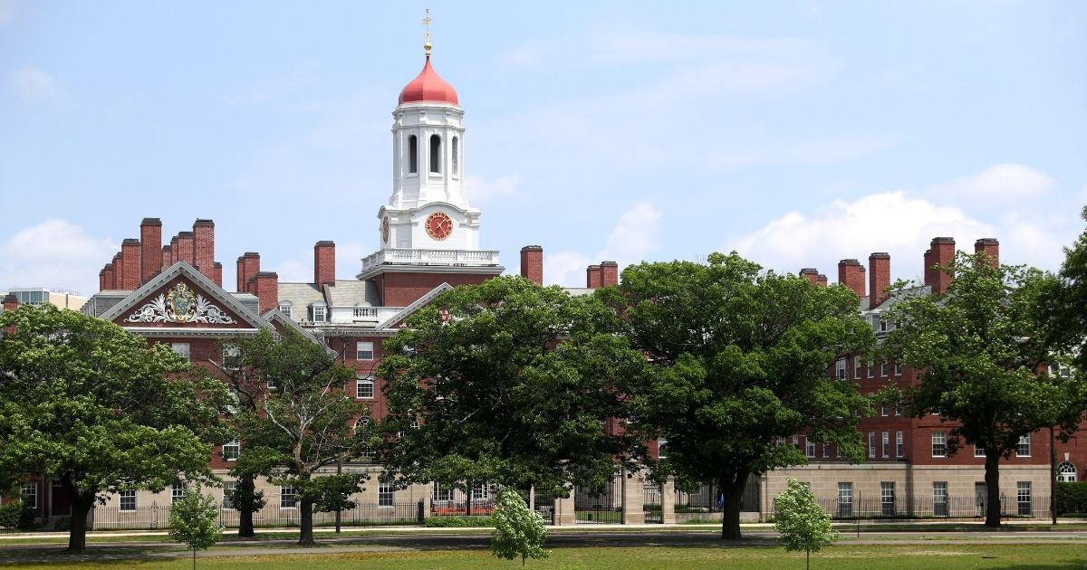 The campus of Harvard University in Cambridge, Massachusetts, is seen July 8, 2020.