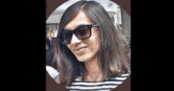 Hemal Jhaveri, Twitter bio shot.