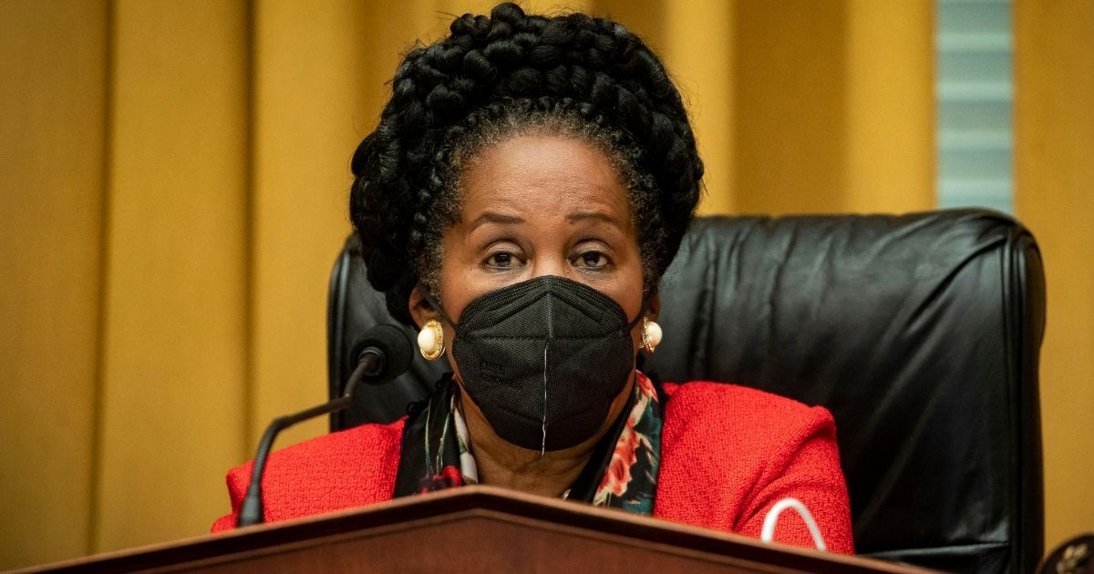 Democratic Rep. Sheila Jackson Lee of Texas speaks during a House Judiciary crime, terrorism, and homeland security subcommittee hearing on Capitol Hill in Washington on Feb. 24.