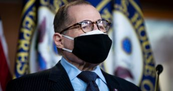 Democratic Rep. Jerrold Nadler of New York speaks during a news conference ahead of the House vote on the Equality Act on Capitol Hill on Feb. 25 in Washington, D.C.
