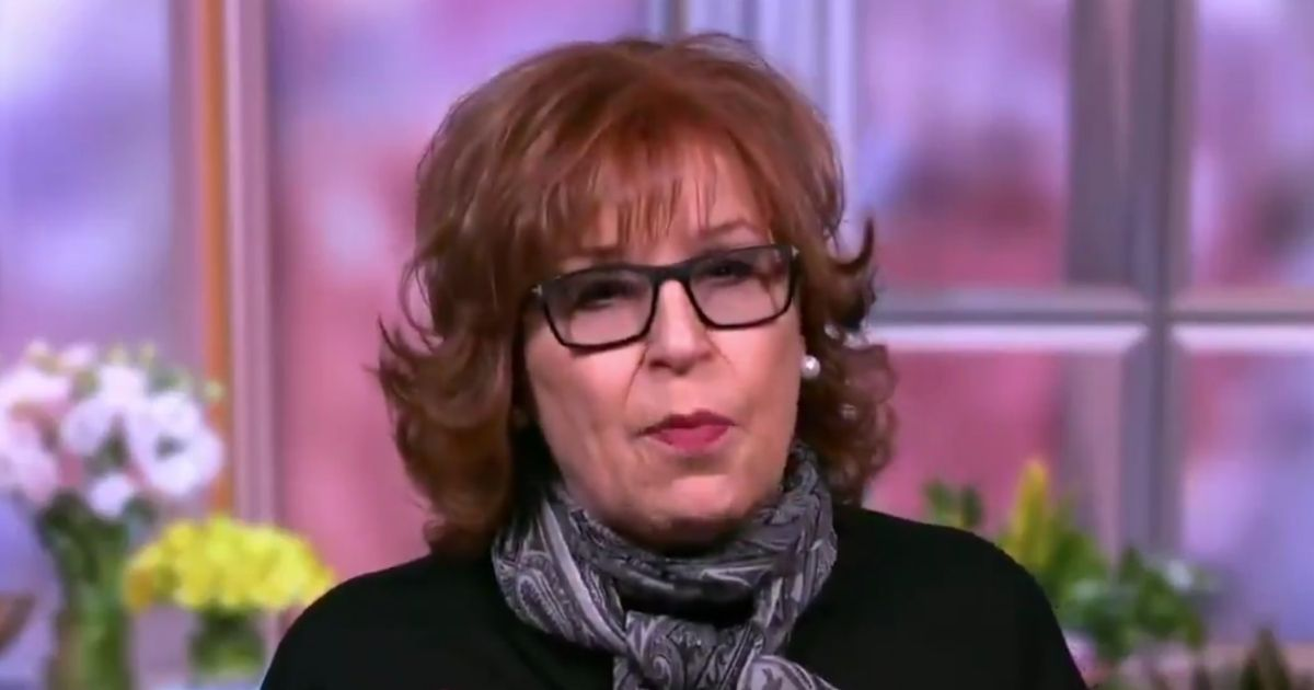 """Co-host Joy Behar of ABC's """"The View"""" appears on the show Monday."""
