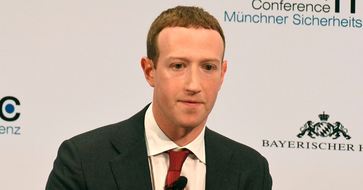 The founder and CEO of Facebook Mark Zuckerberg speaks during the 56th Munich Security Conference (MSC) in Munich, southern Germany, on Feb.15, 2020.