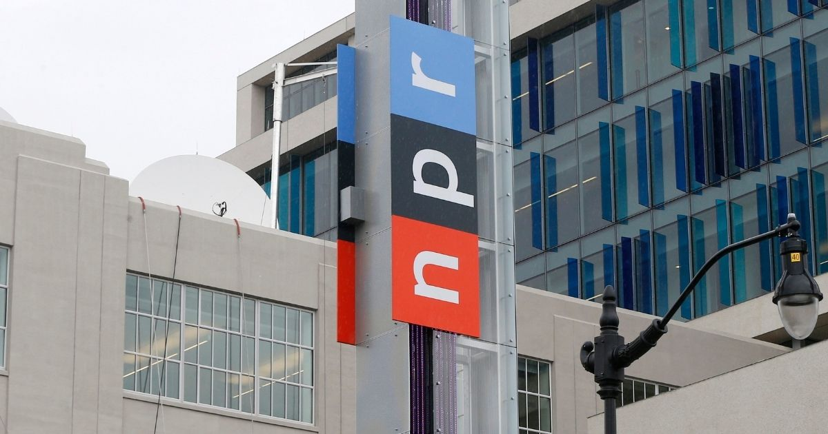 The headquarters of National Public Radio on North Capitol Street in Washington, D.C., is pictured on April 15, 2013.
