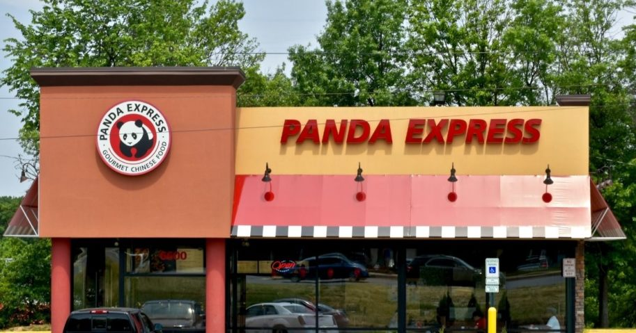 A Panda Express restaurant in Maryland is pictured above.