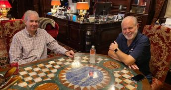 A month after conservative pundit and radio host Rush Limbaugh's death, his brother David Limbaugh, left, expressed his gratitude to fans of his brother on Twitter.