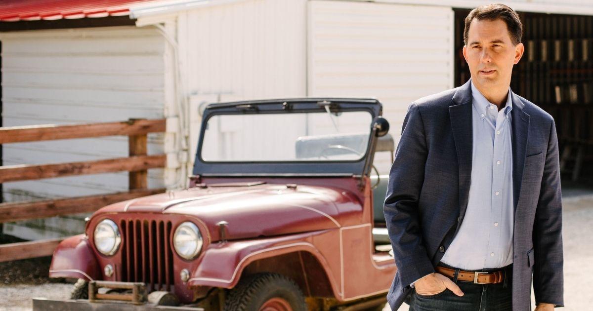Former Wisconsin Gov. Scott Walker