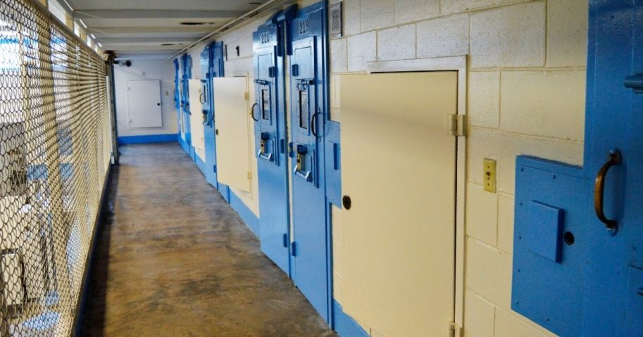 The death row cells at Broad River Correctional Institution in Columbia, South Carolina, are seen in a photo released July 11, 2019.