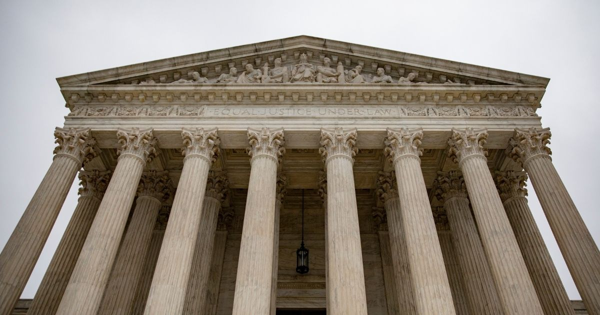 The U.S. Supreme Court is pictured on Dec. 16, 2019, in Washington, D.C.