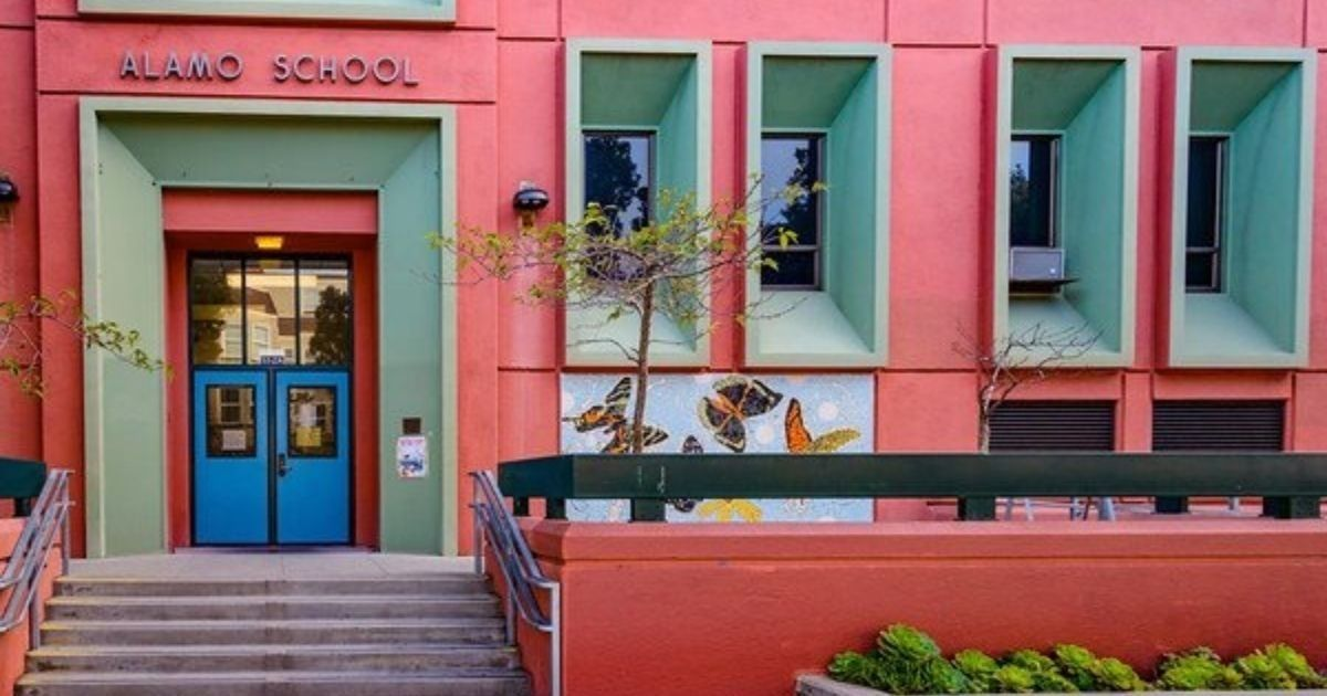 """Alamo Elementary School in San Francisco is being renamed because, according to the school board's notes, """"'Remember the Alamo' was a call for vengeance against Mexicans that was used as a rallying cry at San Jacinto."""""""