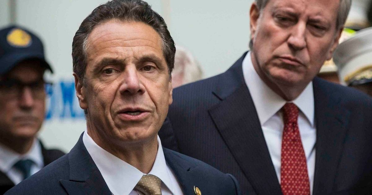 New York Gov. Andrew Cuomo, pictured in a file photo from October 2018, shortly after Supreme Court Justice Brett Kavanaugh was sworn onto the nation's high court after a brutal nomination battle.