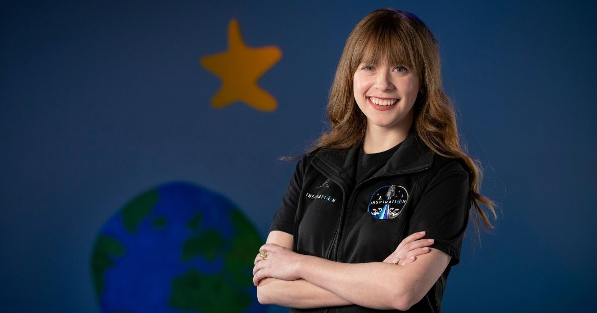 Hayley Arceneaux, a 29-year-old physician assistant at St. Jude Children's Research Hospital and a cancer survivor, says she is excited about her scheduled trip into space. 'I can't thank you all enough for the support you've shown me,' she said.