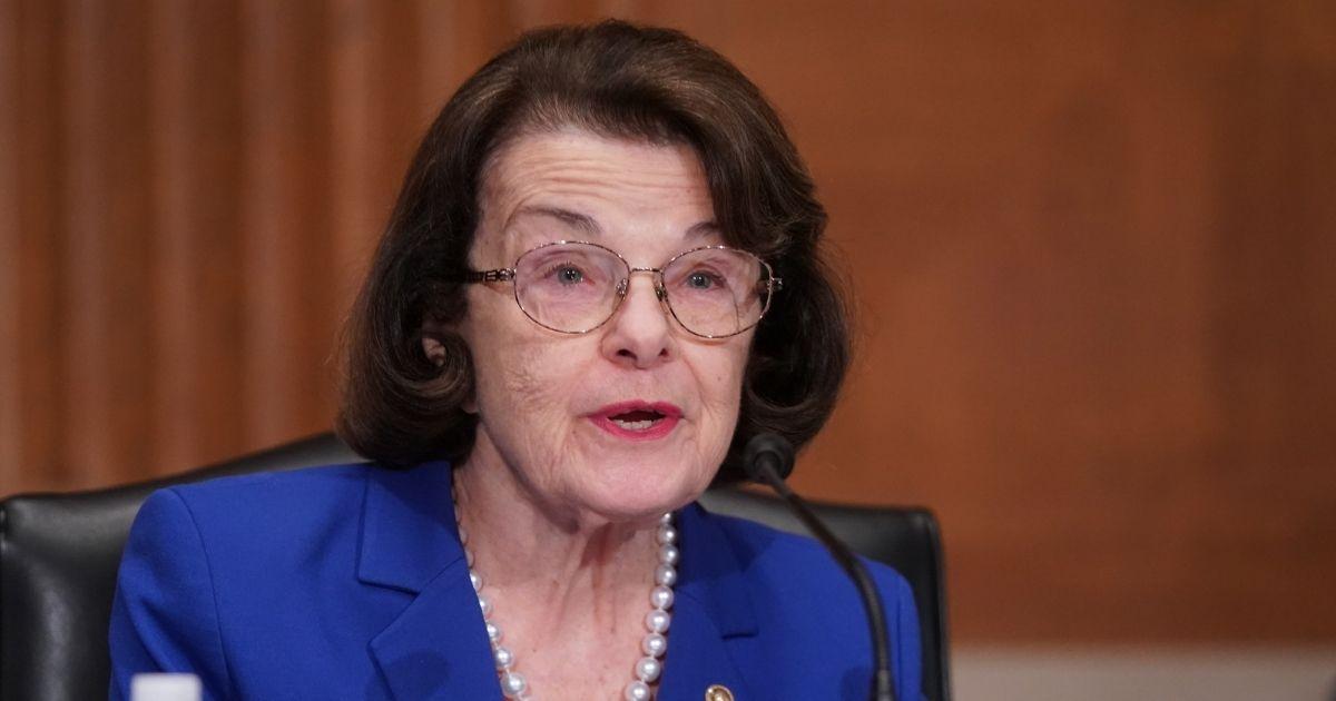 California Sen. Dianne Feinstein, pictured in a Feb. 23 file photo.
