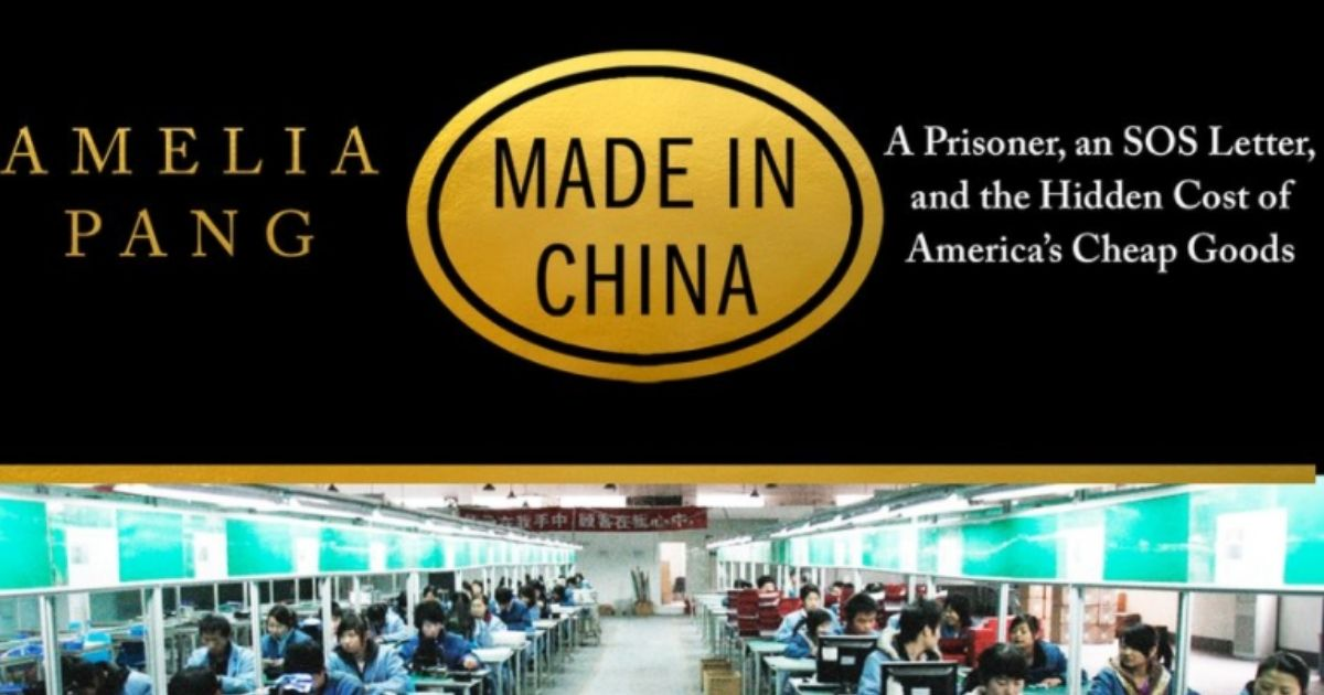 This book, written by Amelia Pang, was published in February.