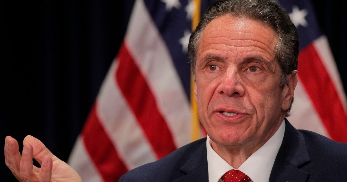 New York Gov. Andrew Cuomo, pictured at a news conference Wednesday in Albany.
