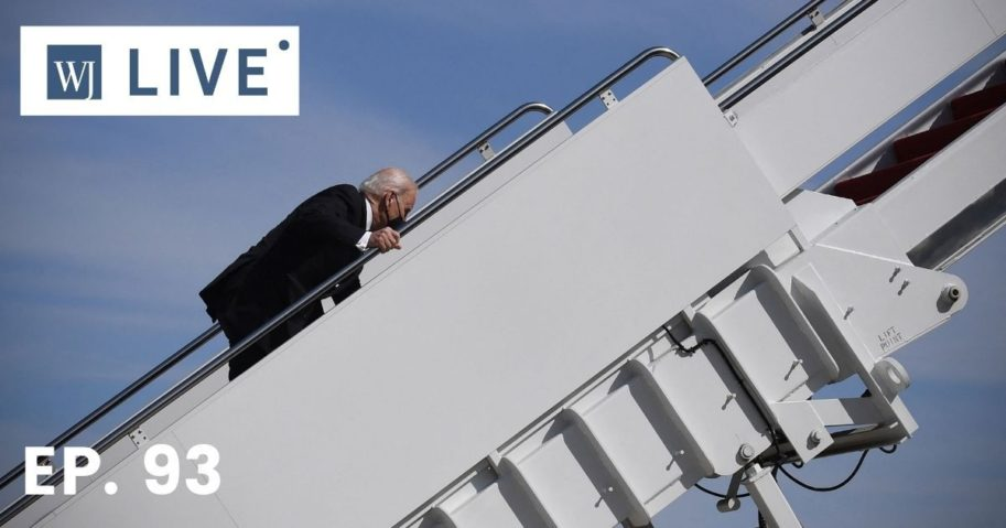 Biden tripped a few times climbing up the stairs of Air Force One on Friday morning. Is the establishment media going to question his health as they did with Trump walking down the ramp?