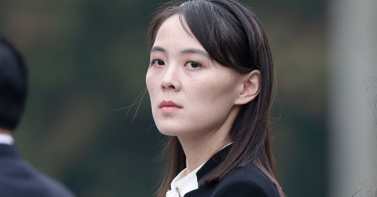 Kim Yo Jong, sister of North Korean leader Kim Jong Un, attends a wreath laying ceremony in Hanoi, Vietnam, on March 2, 2019.
