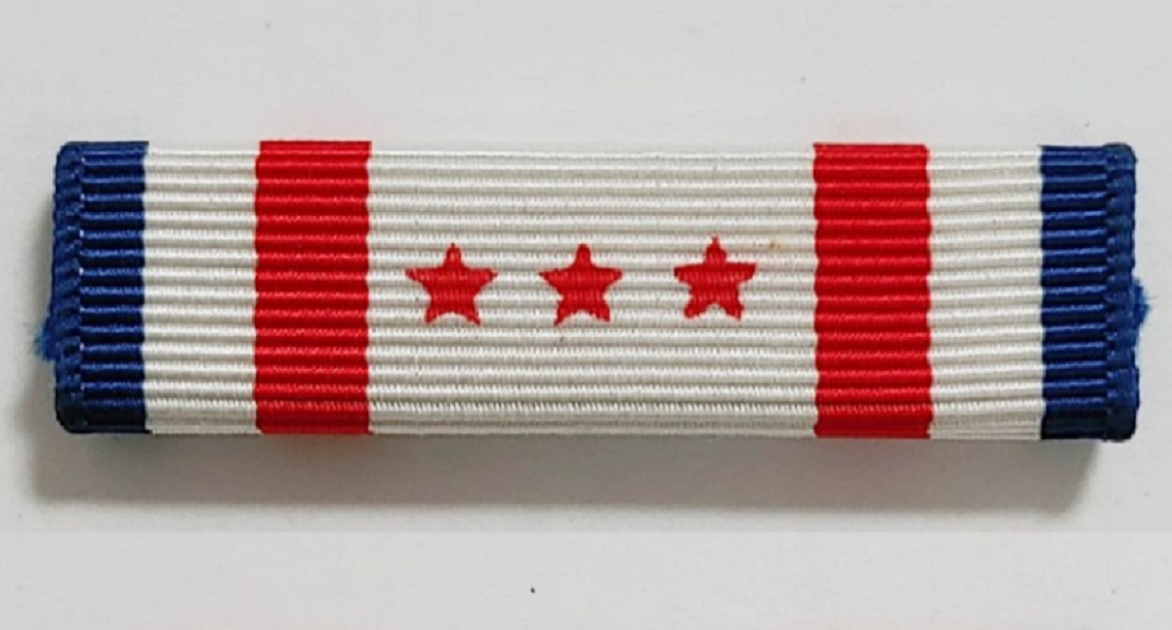 The District of Columbia National Guard Presidential Inauguration Support Ribbon is a new honor for guardsmen and women who served in Washington for the Biden inauguration.