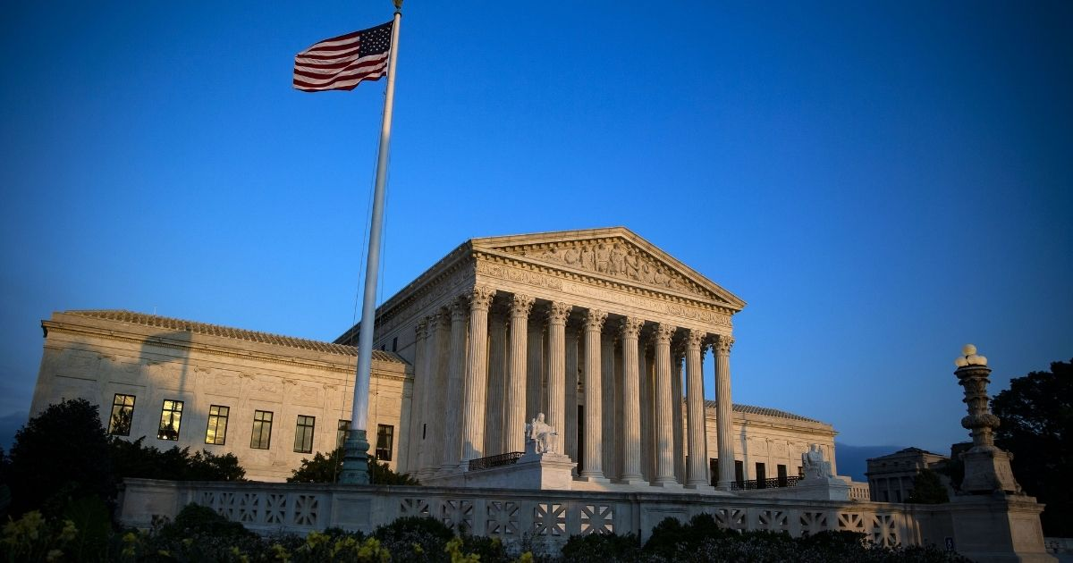 The Supreme Court is seen in the above stock image.