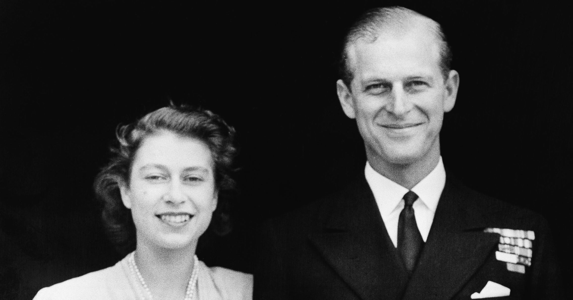 Britain's Princess Elizabeth and her fiance, Lt. Philip Mountbatten, are seen in London on July 10, 1947.