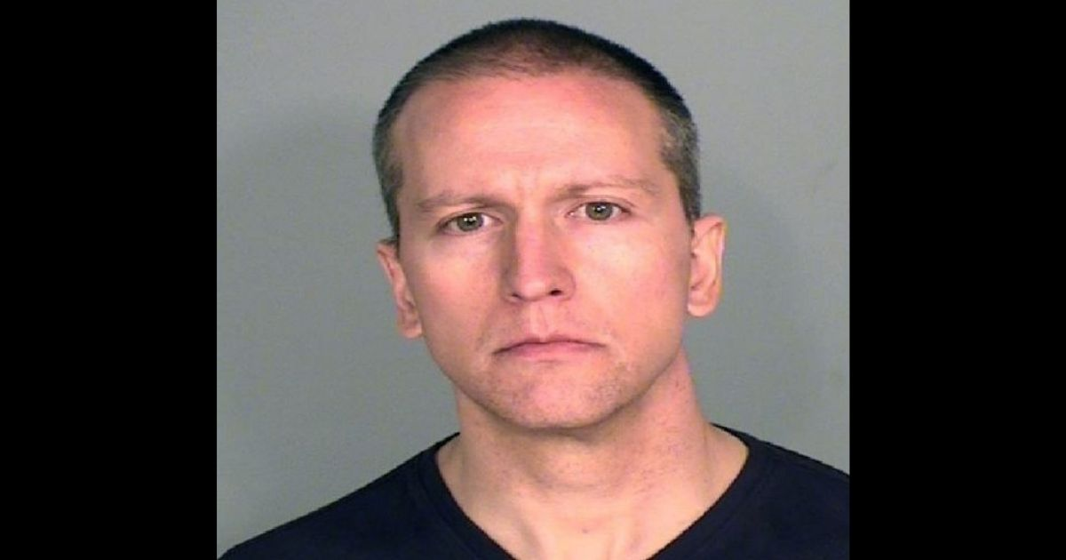 Former Minneapolis police officer Derek Chauvin poses for a mugshot after being charged in the May 25 death of George Floyd.