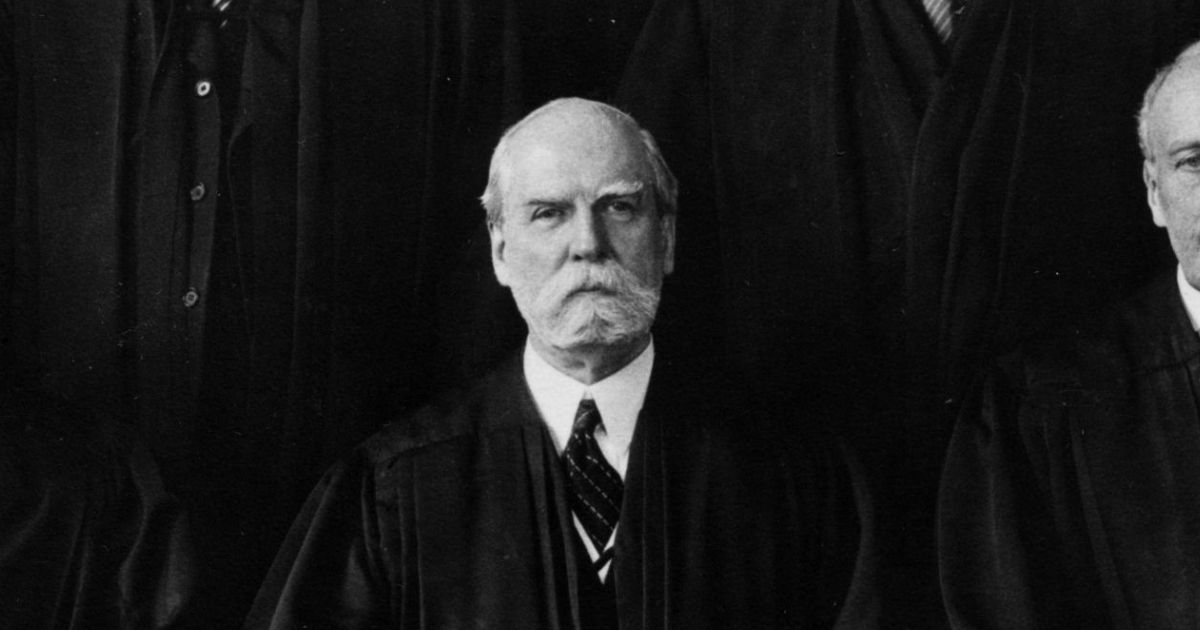 Chief Justice Charles Evan Hughes
