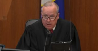 Hennepin County Judge Peter Cahill presides over the trial of former police officer Derek Chauvin in the death of George Floyd.
