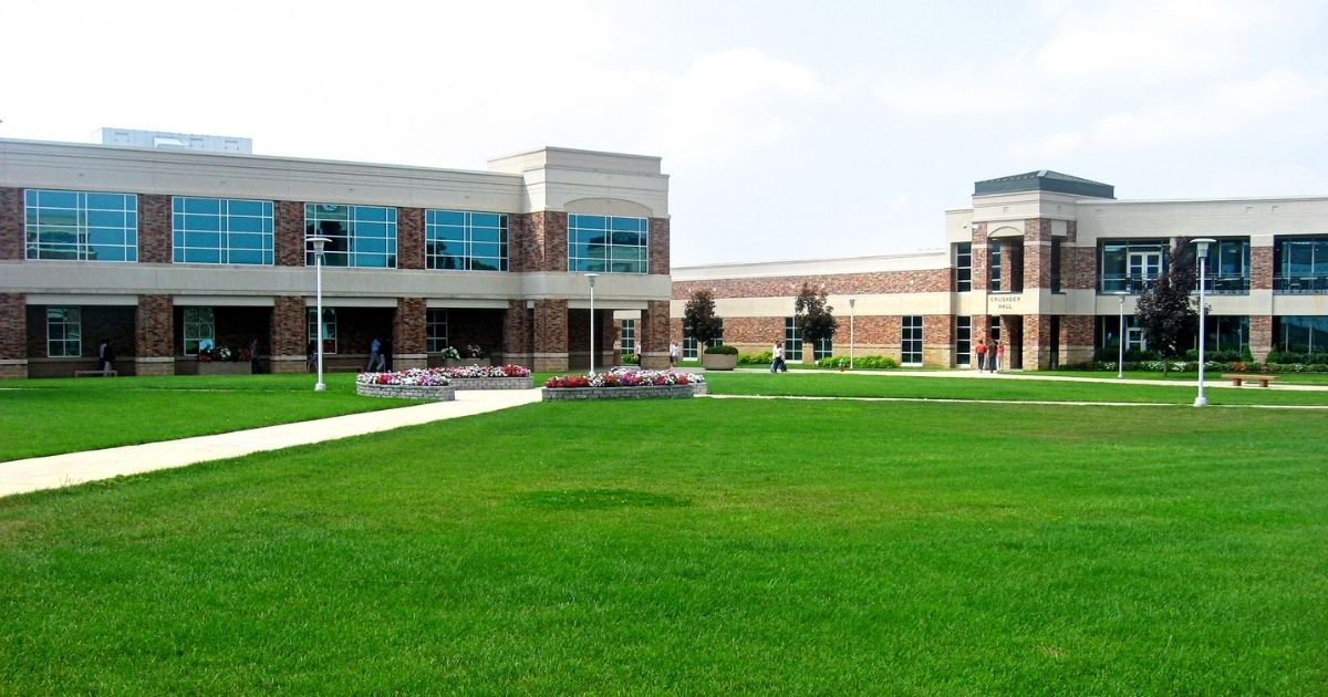 The above stock photo shows a part of Evangel University in Springfield, Missouri.