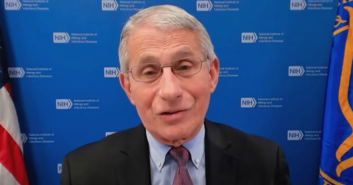 "Dr. Anthony Fauci appears on NBC's ""Today"" show."