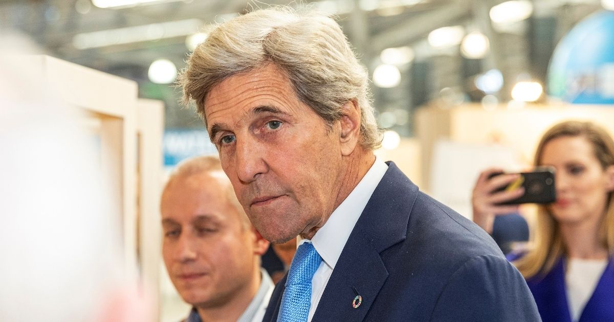 Special Presidential Envoy for Climate John Kerry attends Global Table at Melbourne Showgrounds on Sept. 3, 2019, in Melbourne, Australia.