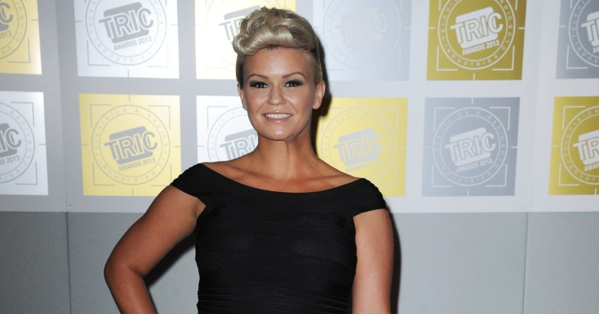Kerry Katona attends the TRIC Awards 2013 at The Grosvenor House Hotel on March 12, 2013, in London, England.