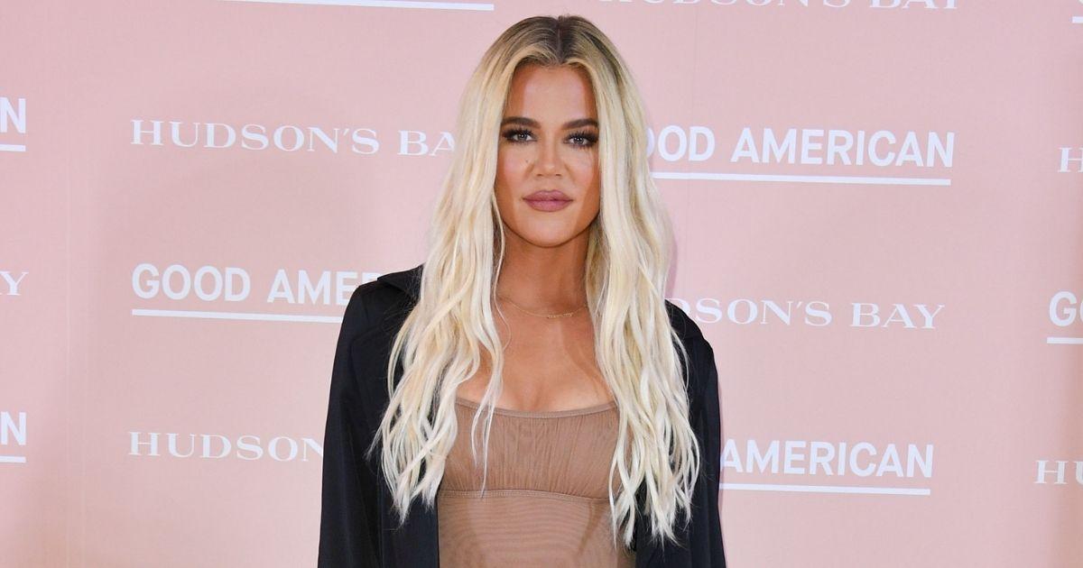 Khloe Kardashian attends Hudson's Bay's launch of Good American in Toronto on Sept. 18, 2019.