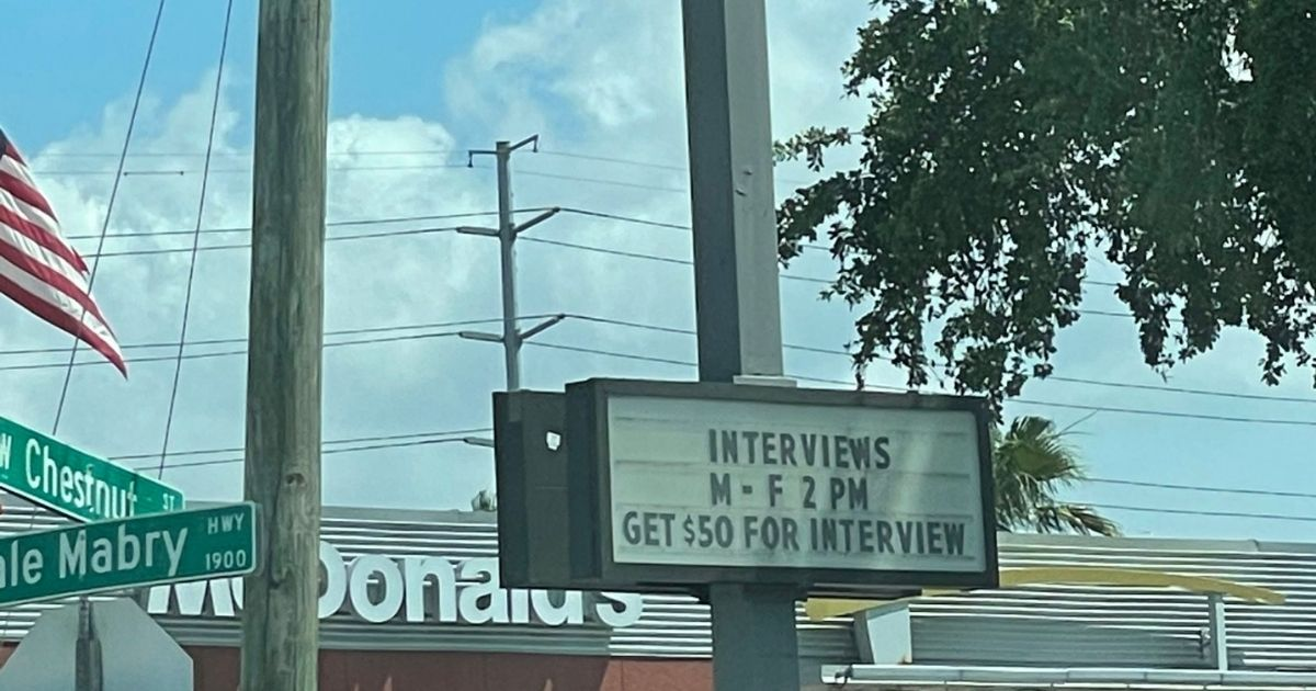 One McDonald's owner is desperate to find workers in the aftermath of the coronavirus pandemic.