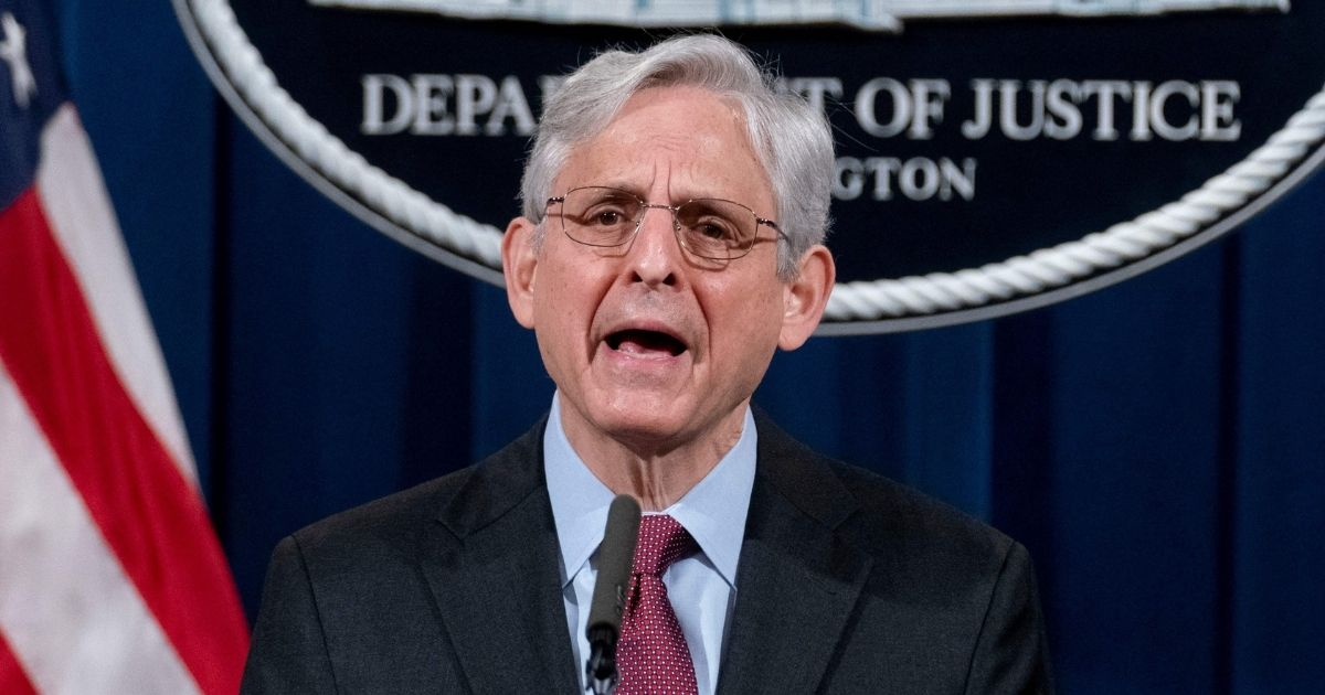 Attorney General Merrick Garland speaks about the jury's verdict in the case against former Minneapolis Police Officer Derek Chauvin in the death of George Floyd at the Department of Justice on Thursday in Washington, D.C.