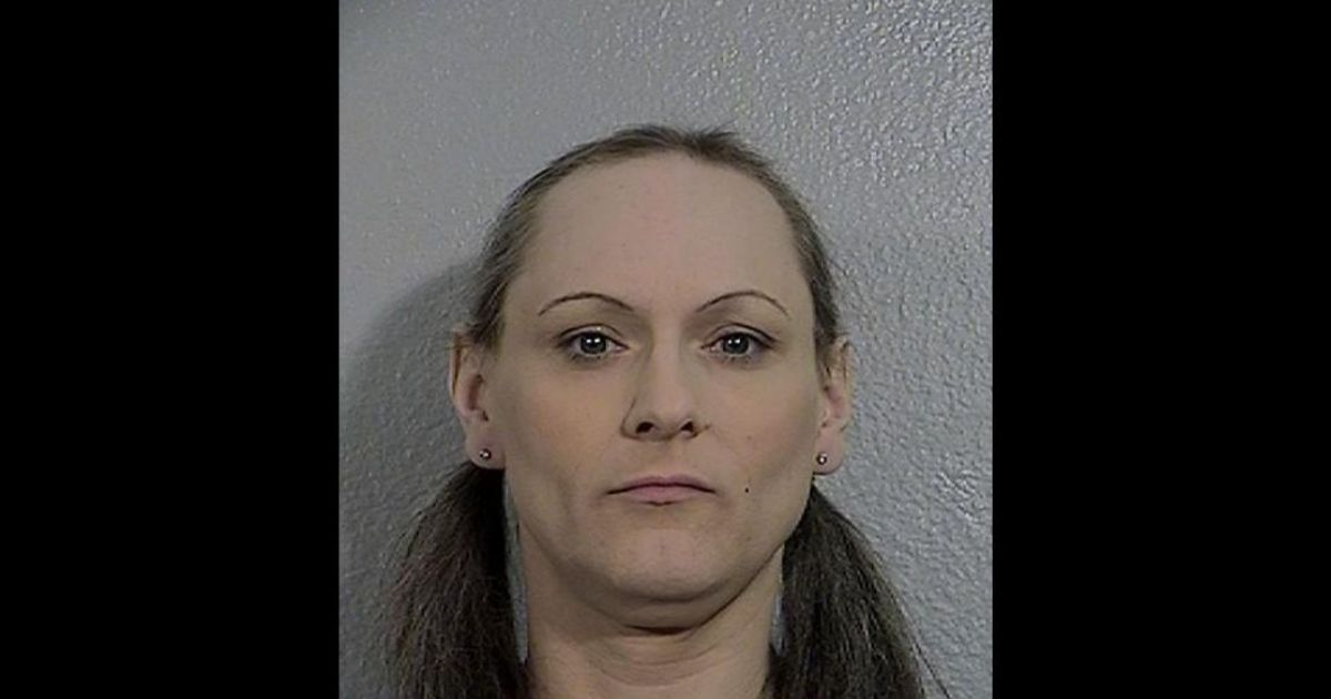 The mugshot of Jessica M. Hann, formally known as Jason Michael Hann is shown above.