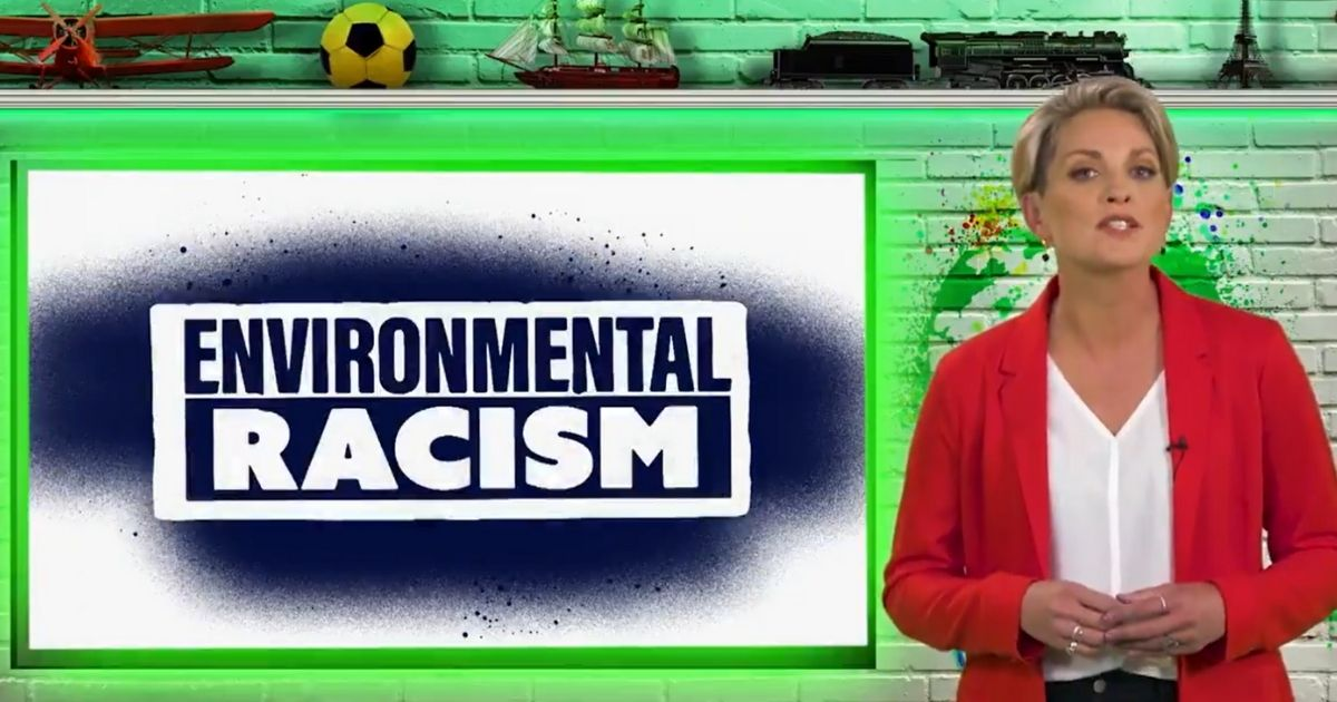 """CBS News correspondent Jamie Yuccas lectures children on """"environmental racism"""" in a Nickelodeon video on Earth Day."""