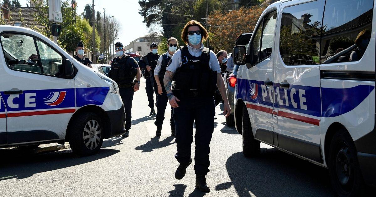 Paris Police officers