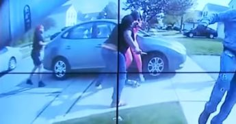 A Columbus, Ohio, police officer's bodycam shows a teenager with a knife.