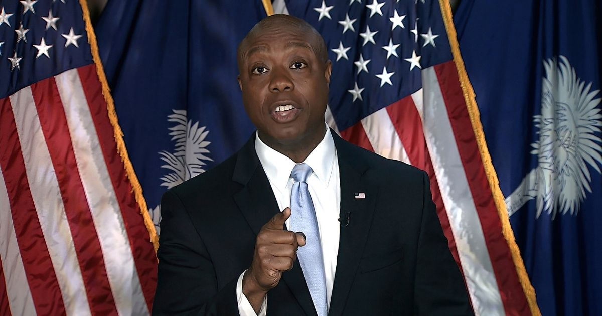 South Carolina Sen. Tim Scott