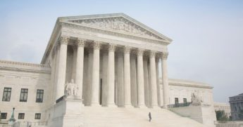 The Supreme Court building is seen in the stock image above.