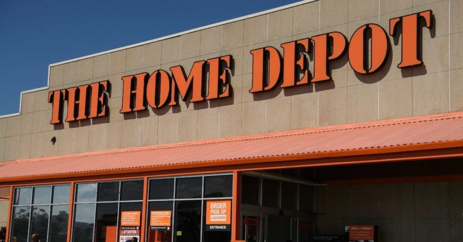 A Home Depot store is seen in Washington, D.C., on Aug. 18, 2020.